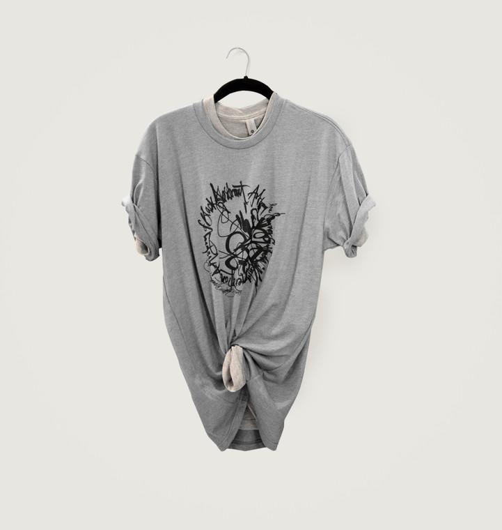 Shinique Smith Generations T-Shirt, Grey