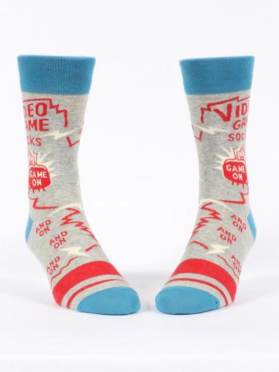 Video Game Men's Crew Socks