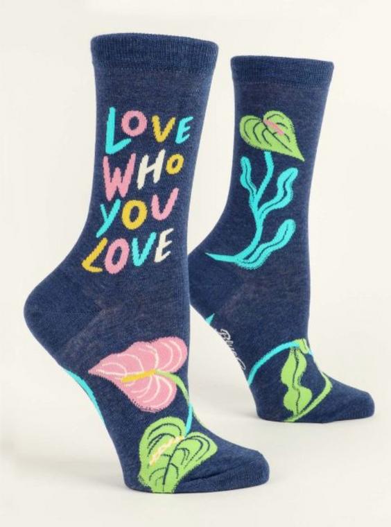 Love Who You Love Crew Sock