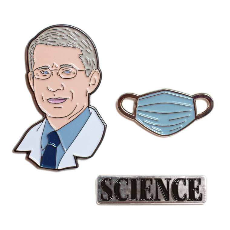 Dr. Anthony S. Fauci Pins