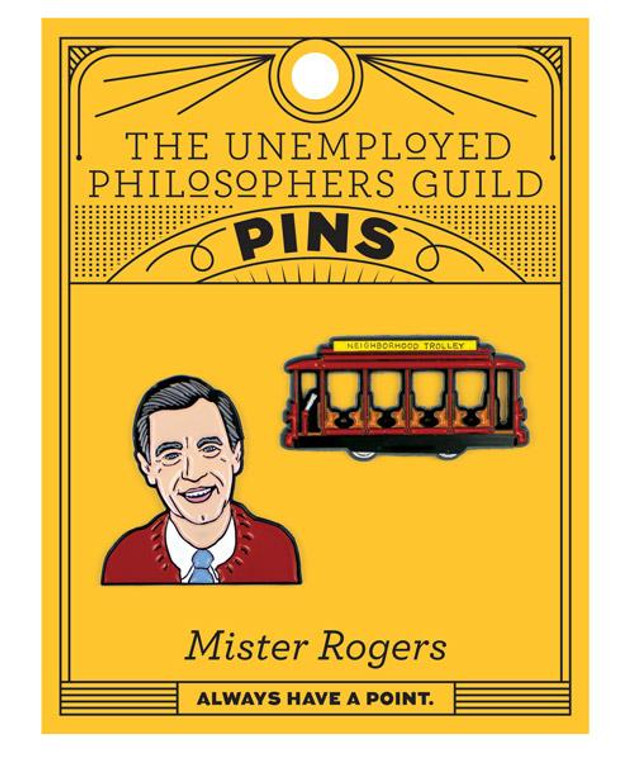 Mister Rogers & Trolley Pins