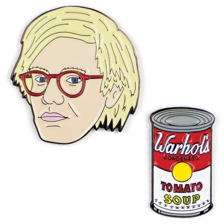 Andy Warhol & Soup Pins