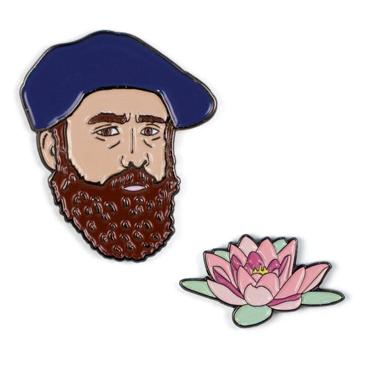 Monet and Water Lily Pins