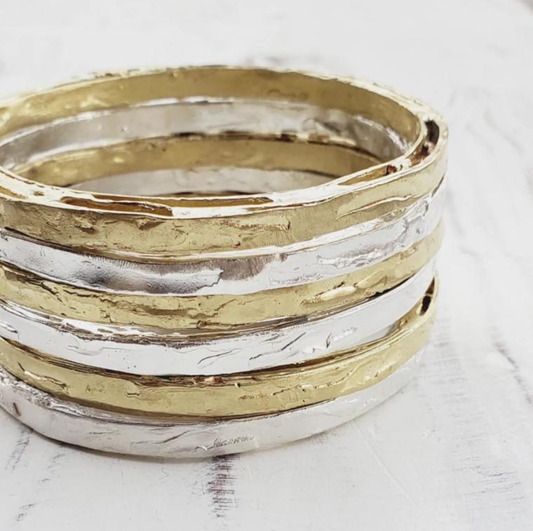 Zeit Bracelet- Brass