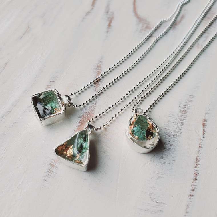 Tiny Spirit Necklaces- Sterling Silver
