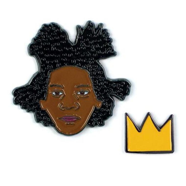 Jean-Michel Basquiat Pins