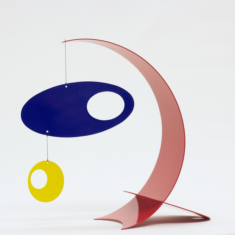 Modern Arc Desktop Mobile, Red/Blue/Yellow