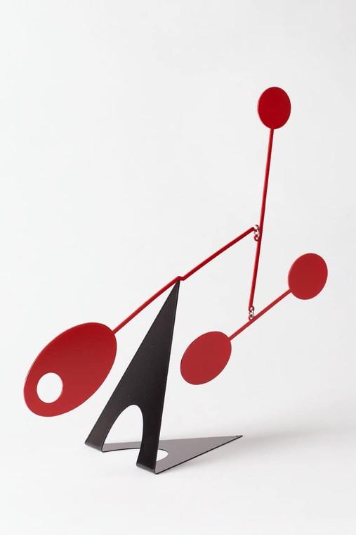 Elliptical Desktop Mobile, Black/Red