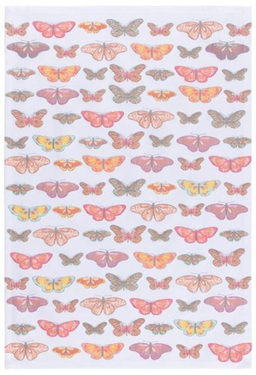 Patterned Tea Towel, Butterflies