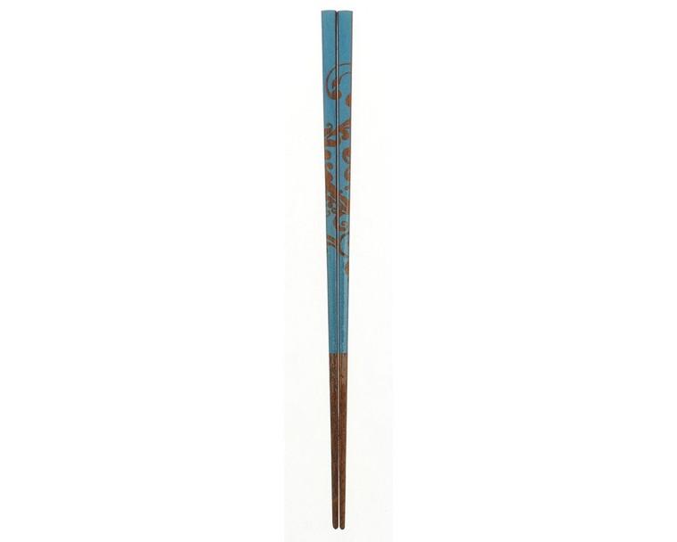 Chopsticks Wood Bali Floral Wave