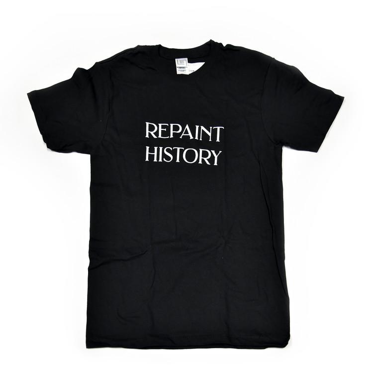 Repaint History T-Shirt, Black