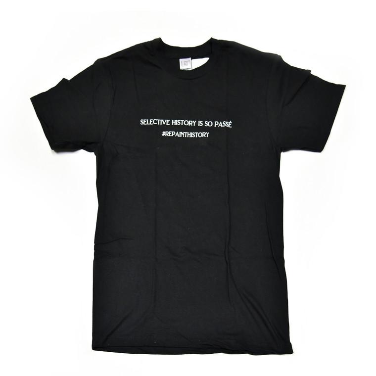 Selective History T-Shirt, Black