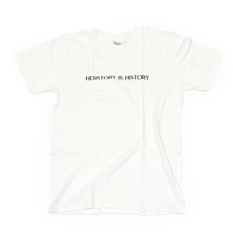 Herstory is History T-Shirt, White