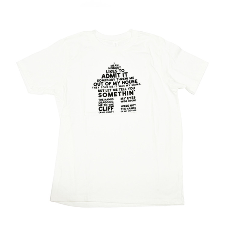Mark Bradford Out of My House T-Shirt, White