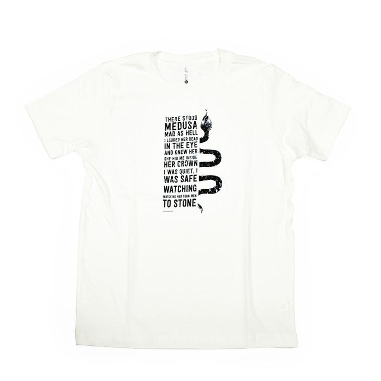 Mark Bradford Medusa Children's T-Shirt, White