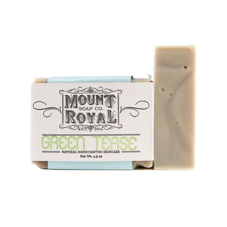 Green Tease - Tea Tree & Green Tea Bar Soap