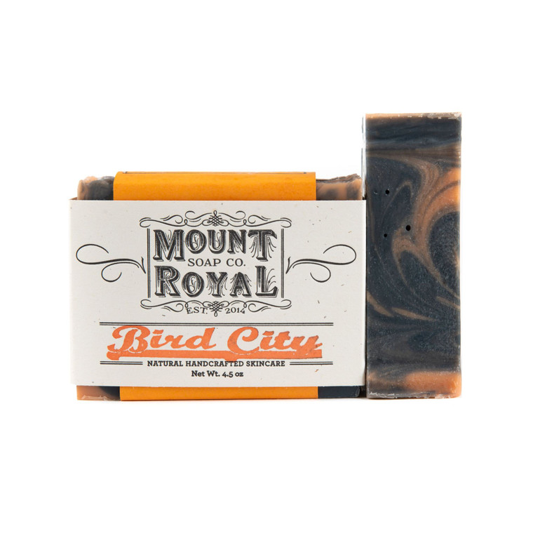 Bird City- Spearmint & Sweet Basil Bar Soap