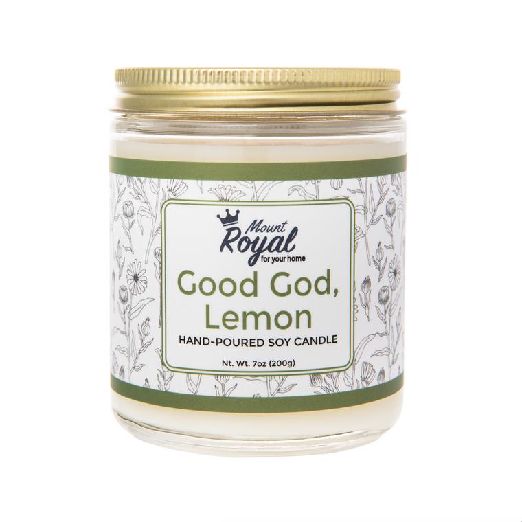 """Good God Lemon"" Candle"