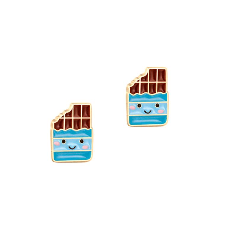 Chocolate Sweets Enamel Studs