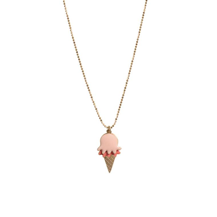 Ice Cream Pendant Necklace