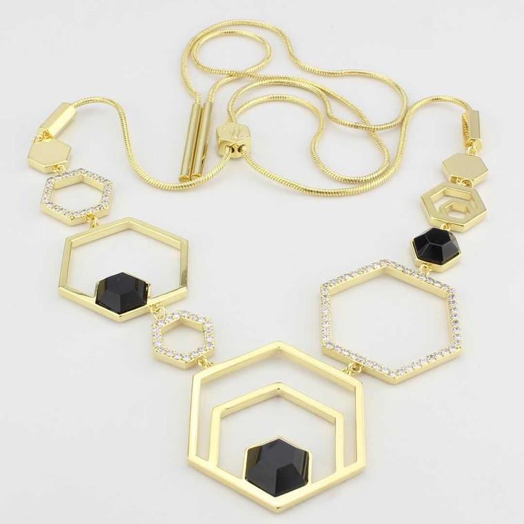 Colette Semi-Precious Statement Necklace