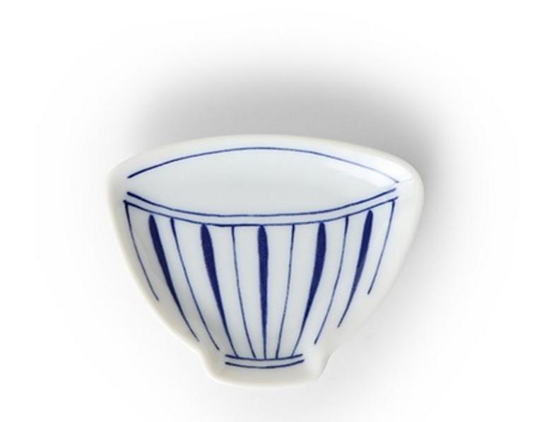 Blue & White Teacup Mini Plate