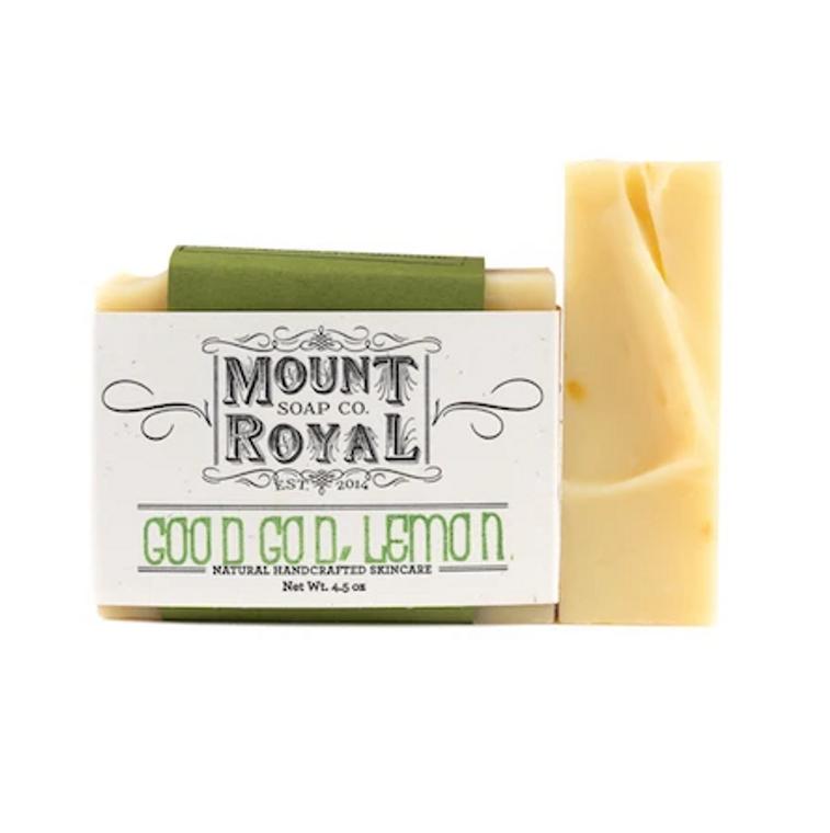 Good God Lemon - Lemongrass & Calendula Bar Soap
