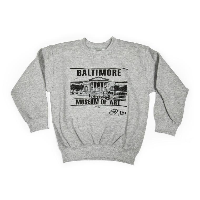 BMA Children's Crewneck Sweatshirt