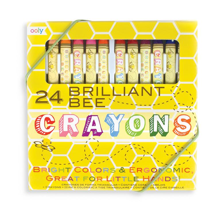 Brilliant Bee Crayons- Set of 24
