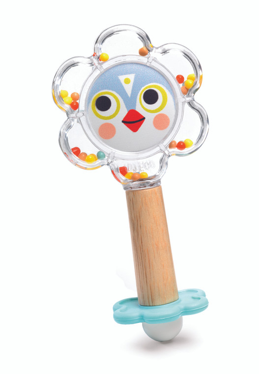 Baby Flower Teether & Rattle