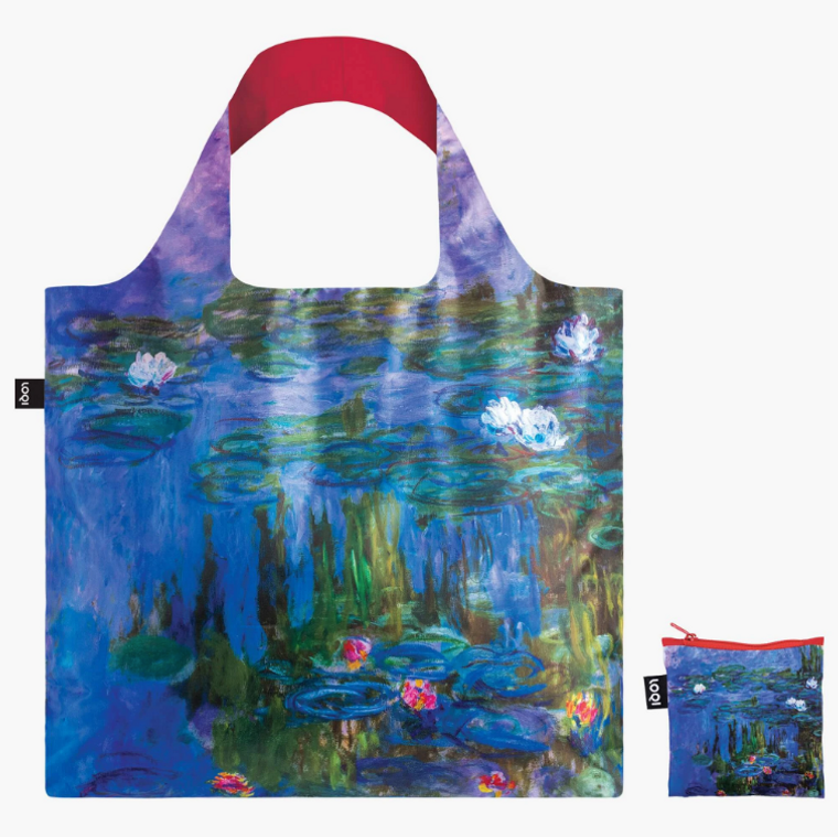 Water Lilies Bag by Loqi