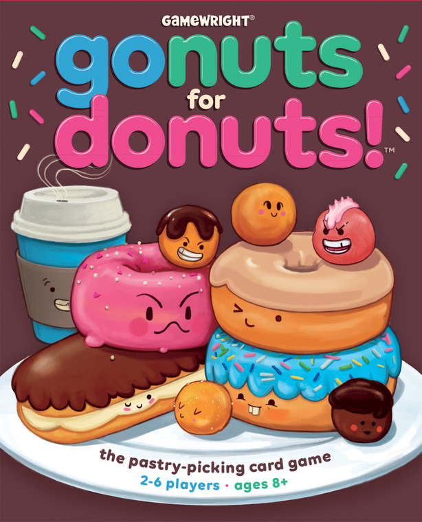 Go Nuts for Donuts! The Pastry-Picking Card Game