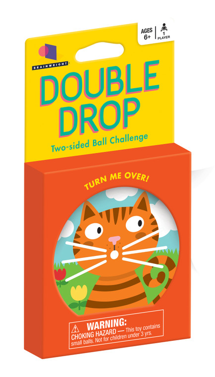 Double Drop Two-Sided Ball Challenge- Kitty