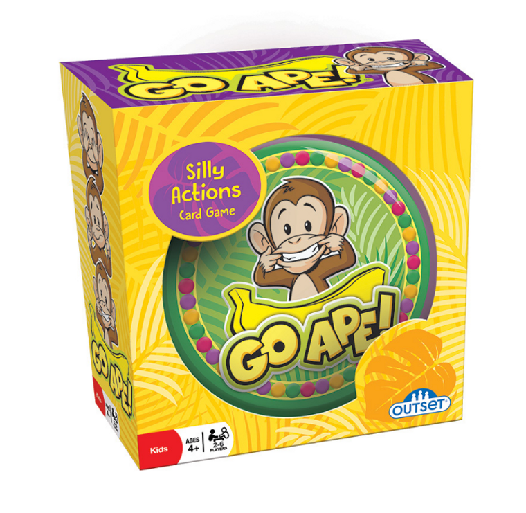 Go Ape- Silly Actions Card Game