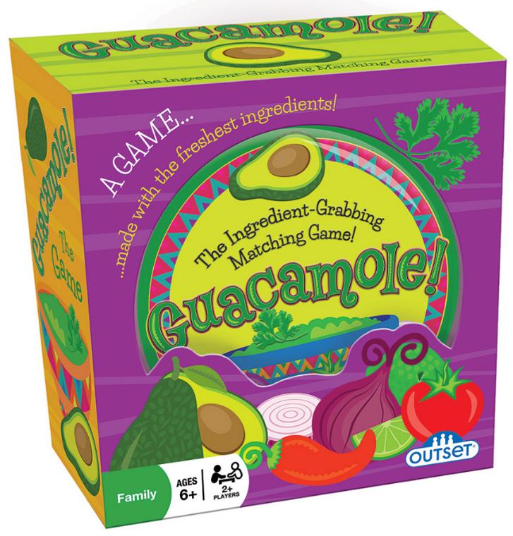 Guacamole! The Ingredient-Grabbing Matching Game