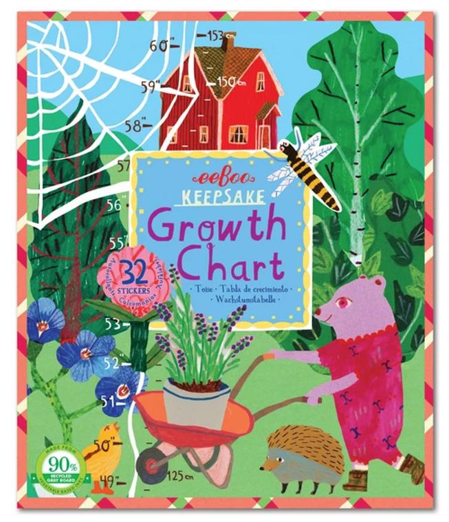 Keepsake Growth Chart- Making the Garden