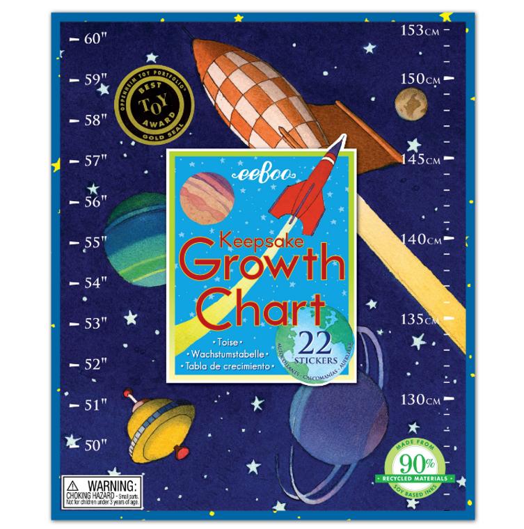 Keepsake Growth Chart- Space