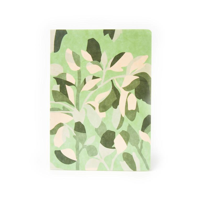 Hanji Bombom Notebook - Leaves