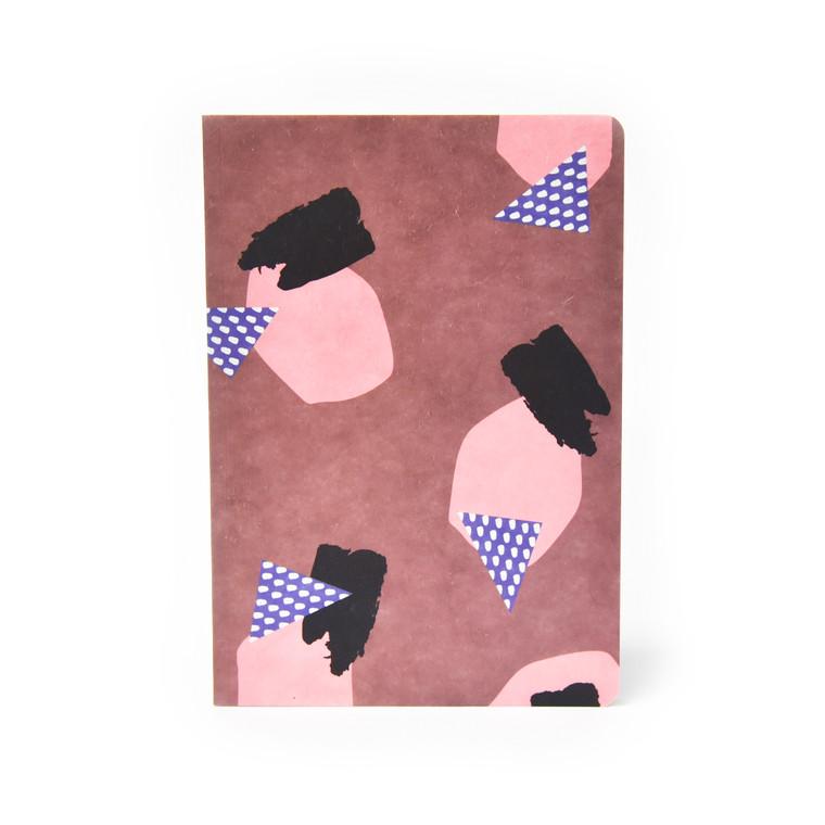 Hanji Collage Notebook - Rock