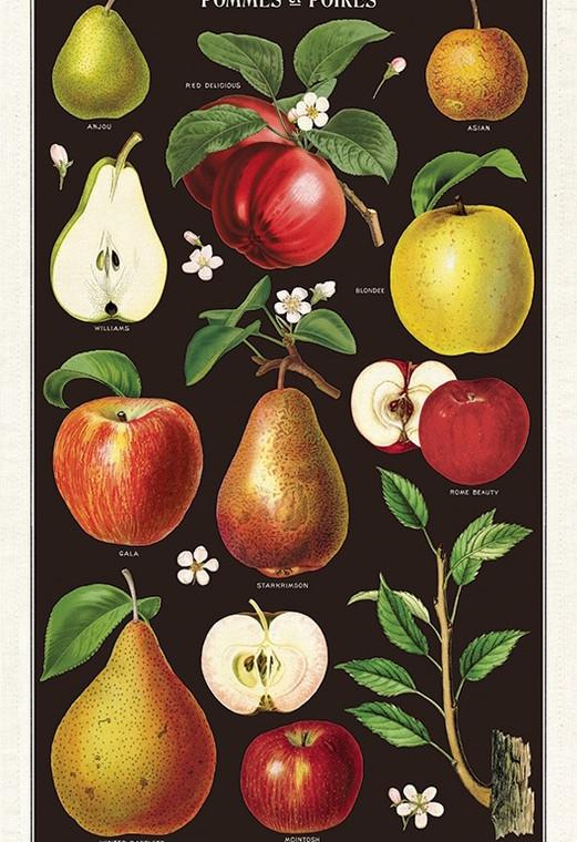 Apples & Pears Tea Towel
