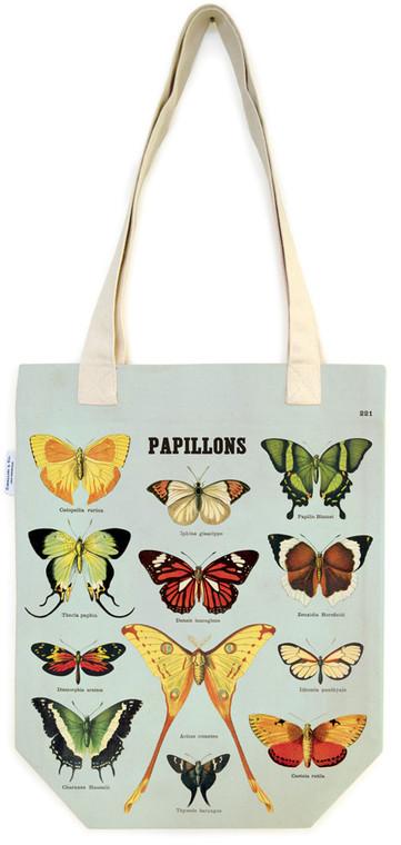 Butterflies Vintage Tote Bag