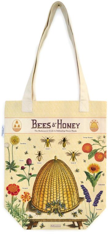 Bees & Honey Vintage Tot Bag