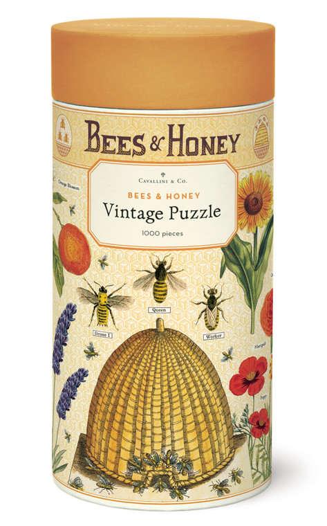 Bees & Honey 1000 Piece Puzzle