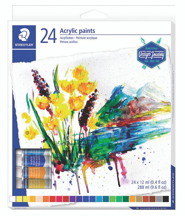Acrylic Paint Set of 24