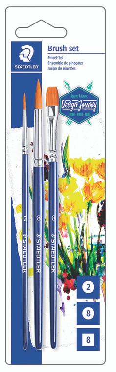 Paint Brushes Set of 3