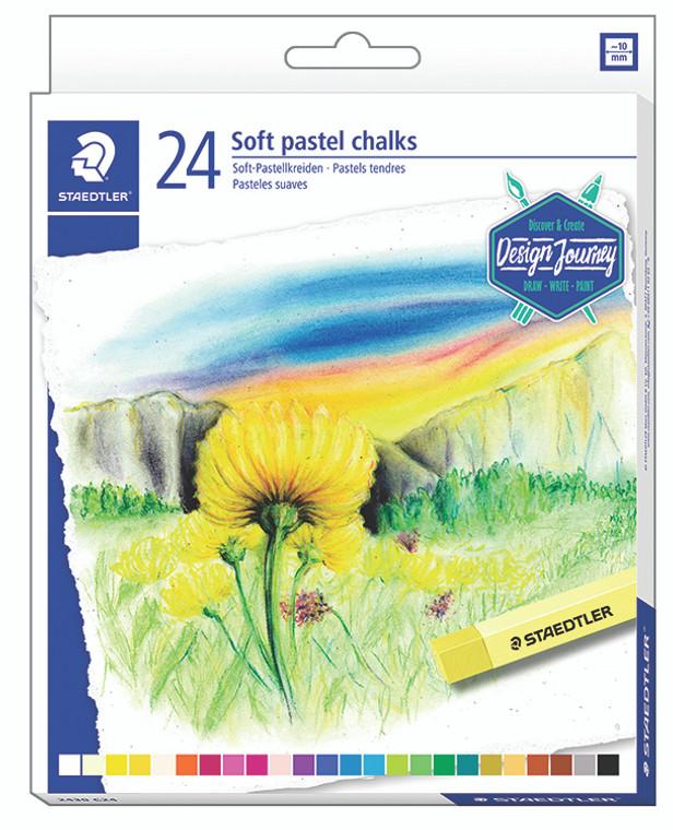 Soft Pastel Chalks Set of 24