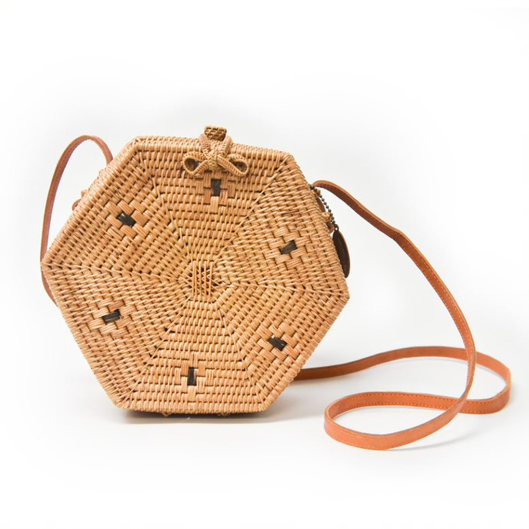 Ata Vine Hexagon Bag