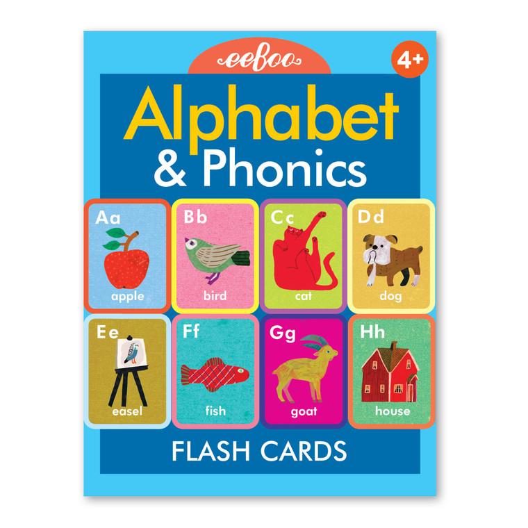 Alphabet & Phonics Flash Cards