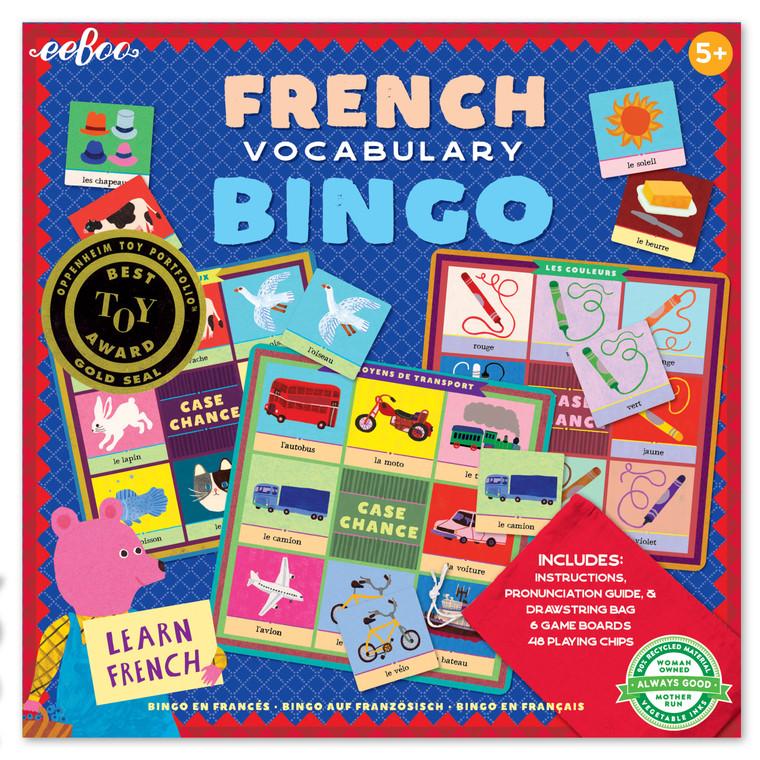 French Vocabulary Bingo