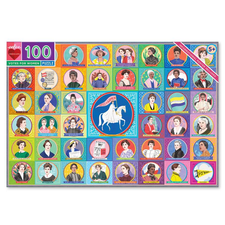 Votes for Women 100 Piece Puzzle